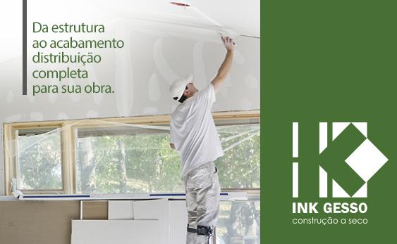 Ink Gesso - Construção a Seco